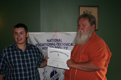 Vice Inducted into NTHS