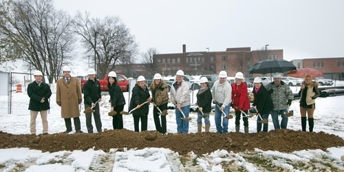 Board of Education Breaks Ground on New Elementary